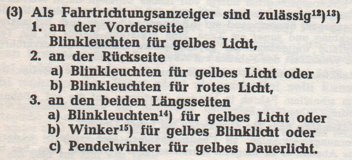 Wiking I - Rätsel Paragraph54StVZO1960